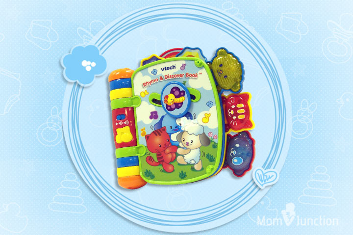 Toys For 5 Year Old Girls - VTech Rhyme And Discover Book
