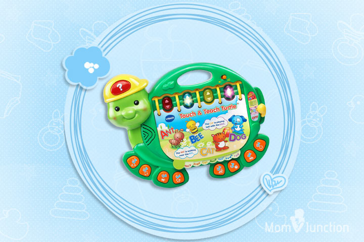 Toys For 7 Year Old Girls - VTech Touch And Teach Turtle Book