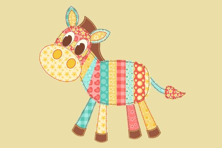 Donkey Craft - Donkey Fabric Patchwork