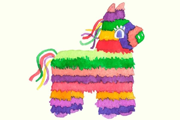 Donkey Craft - Tissue Paper Handmade Donkey Craft