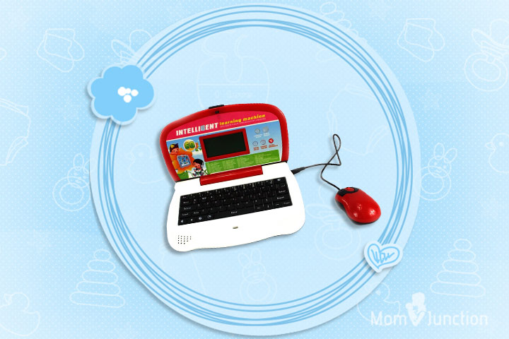 Laptop Toys - Intelligent Bookworms' Bilingual Educational Toy Laptop