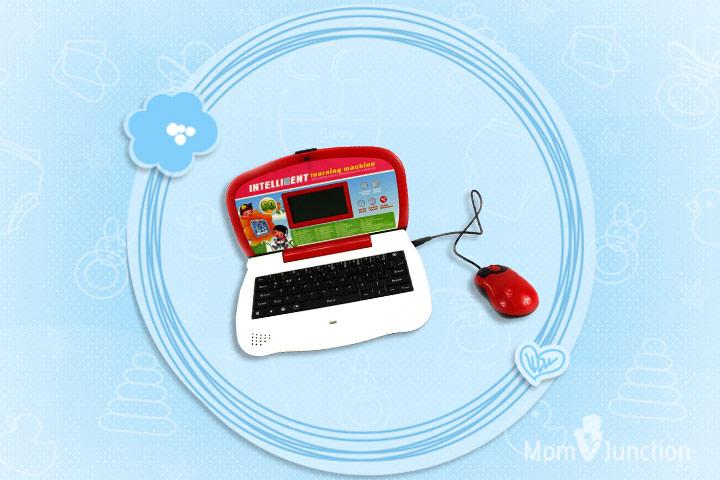 Laptop Toys - Intelligent Bookworms' Bilingual Educational Toy Laptop