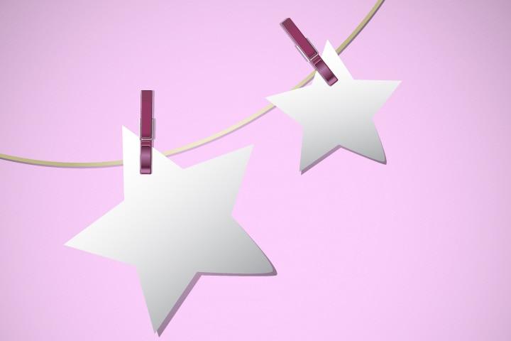 Veterans Day Crafts - String Of Stars
