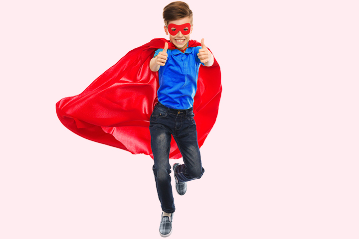 Superman Costume Fancy Dress For Teens With Pictures