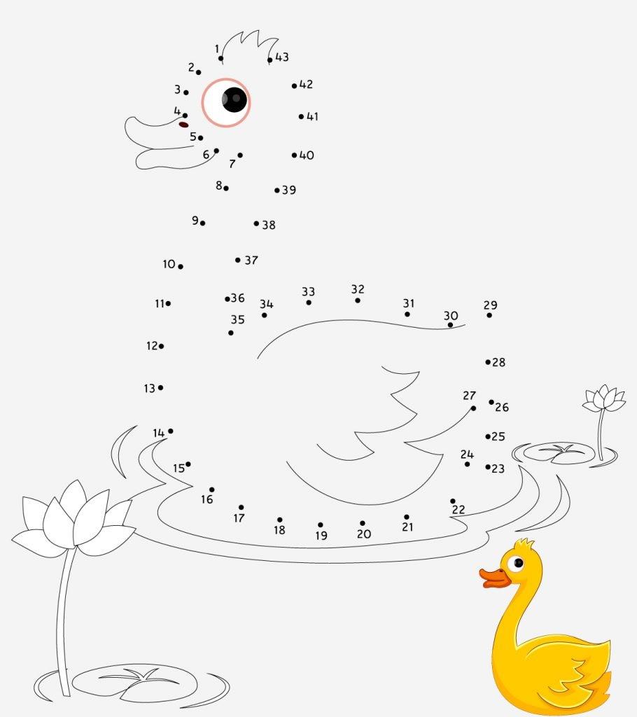 10 Activity Sheets For Preschoolers