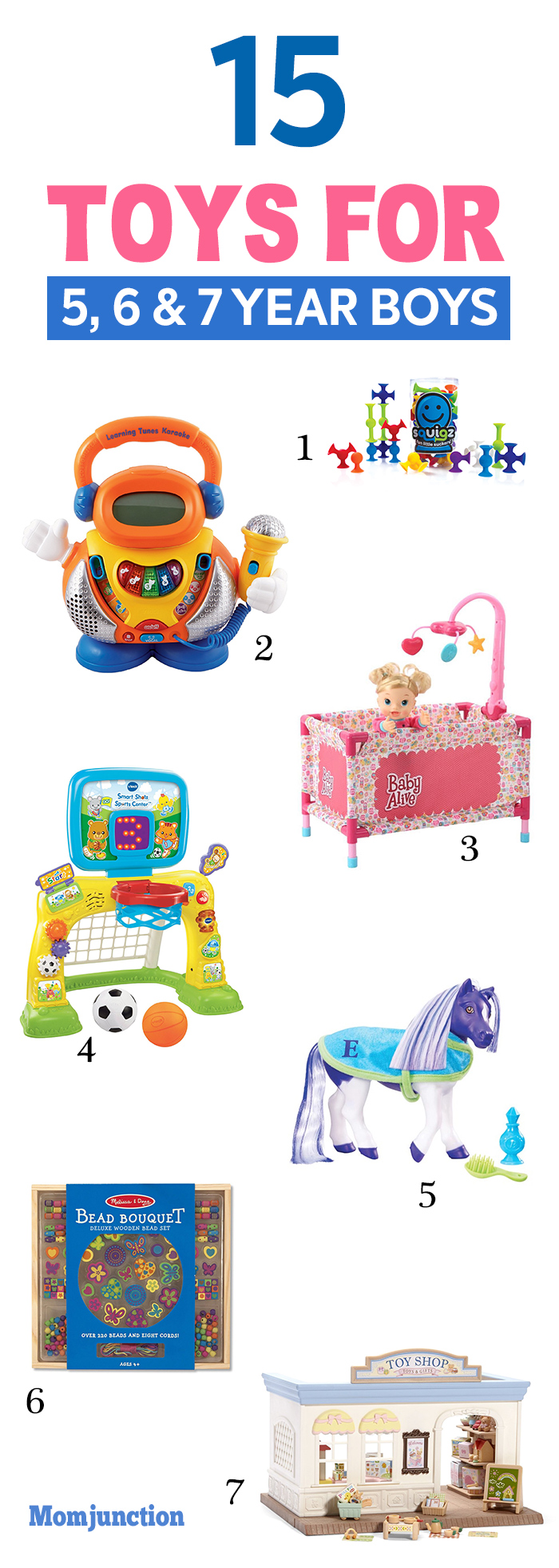 15 Best Toys For 5, 6 And 7-Year-Old Boys