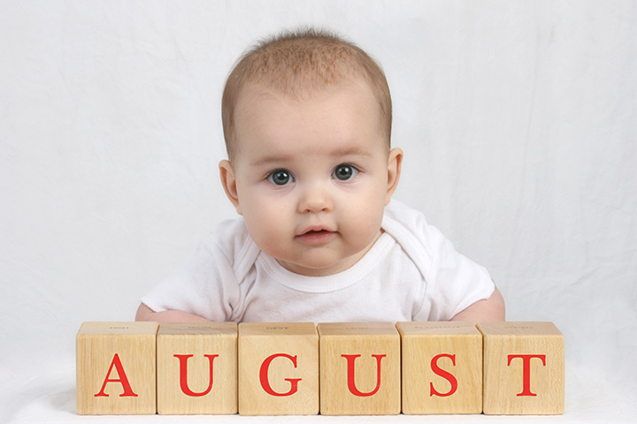 August Baby Names - 31 Names For Babies Born in August