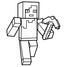 Mindcraft Coloring Pages Delectable 37 Awesome Printable Minecraft Coloring Pages For Toddlers Design Ideas