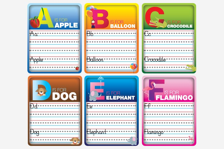 English Worksheets For Kids - Alphabet Worksheet