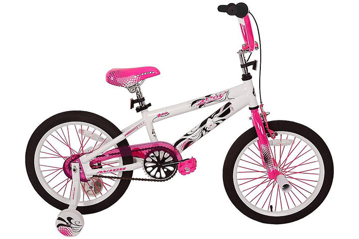 Avigo Hot 18-inch bike for girls
