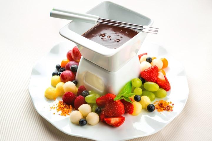 Tea Party Ideas For Kids - Chocolate Fondue