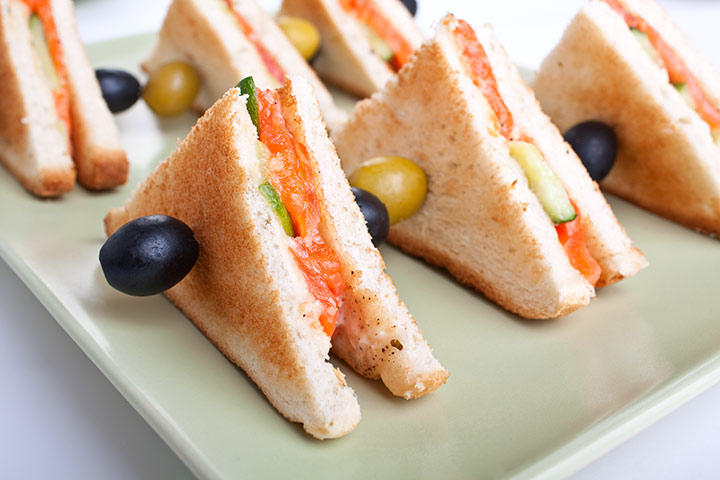Tea Party Ideas For Kids - Club Tea Sandwich With Different Stuffing