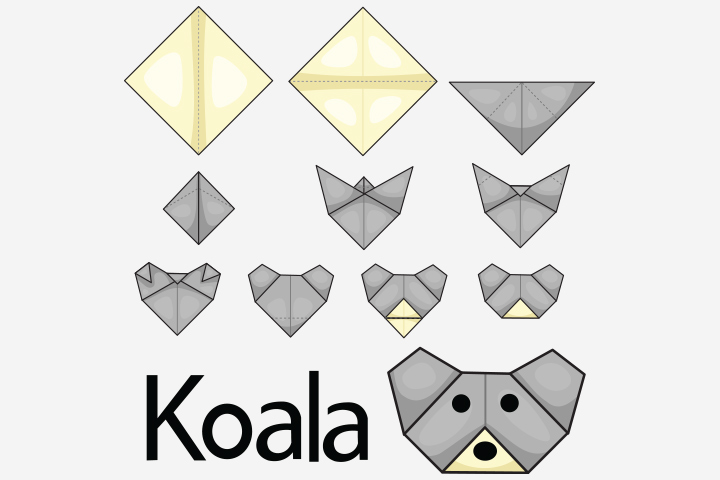 Koala Crafts - Craft Paper Koala Craft