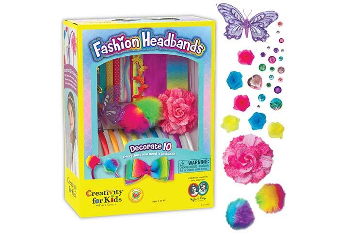 Creativity for Kids Fashion Headbands Craft Kit