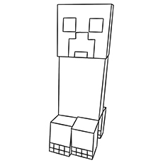 37 Free Printable Minecraft Coloring Pages For Toddlers