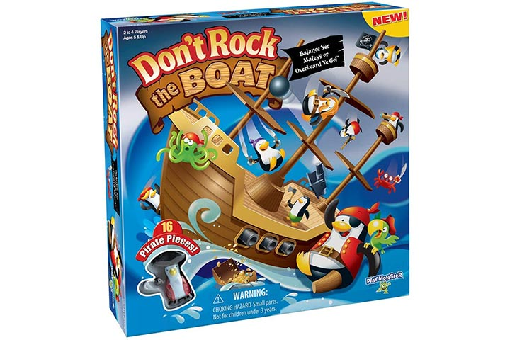 Dont Rock The Boat Skill Action Balancing Game