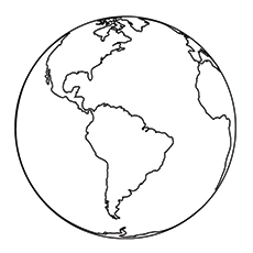 Solar Planet Earth Coloring Pages