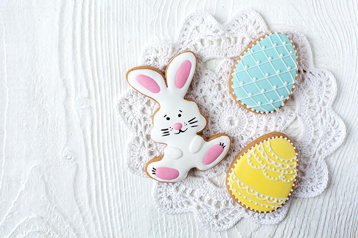 Easter Egg Crafts - Easter Egg Cookies Craft