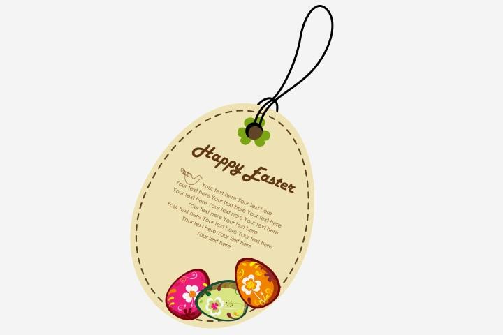 Easter Egg Crafts - Easter Egg Greeting Card