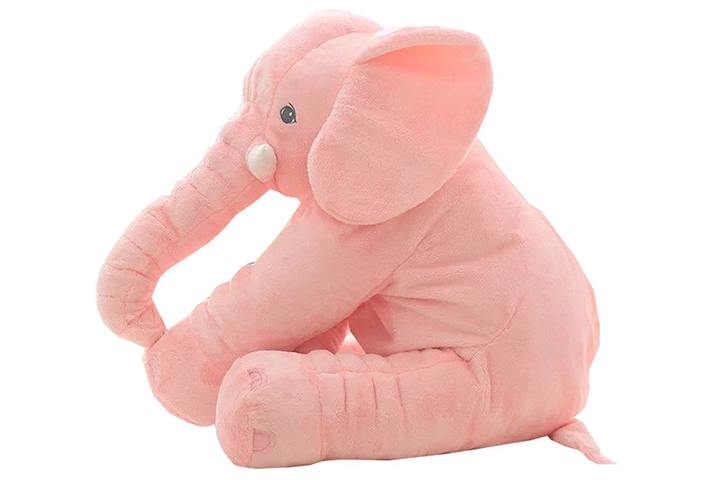 Elephant doll pillow
