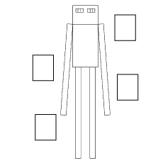 Enderman Coloring Sheet