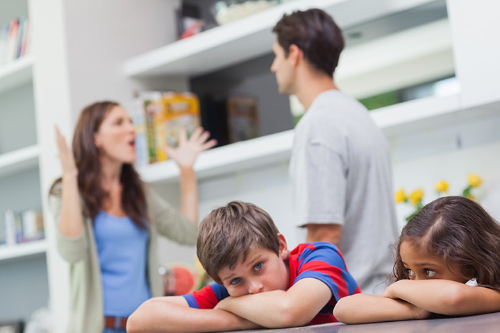 Effects Of Parents Fighting In Front Of Children