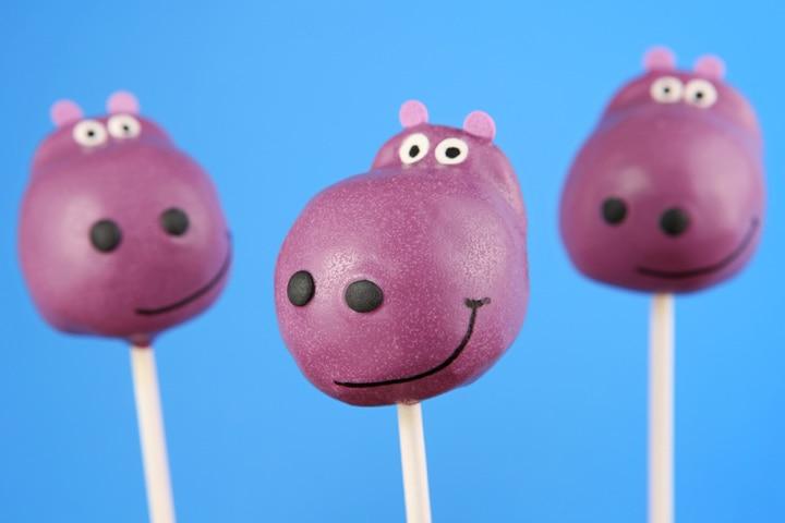Hippo Craft - Hippo Cake Pops