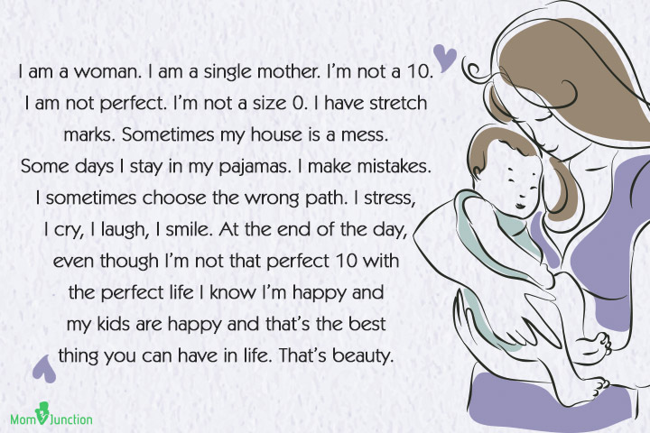 Quotes About Single Mothers - I am a woman