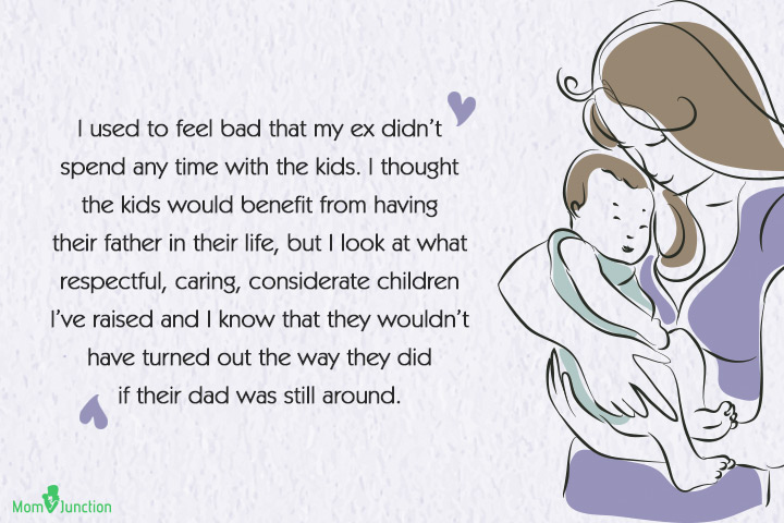 Quotes about Beining a Single Mother - I used to feel bad that my ex