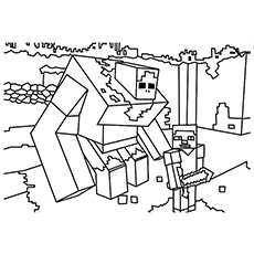 mobs 2 likewise minecraft iron golem coloring page as well Iron Golem besides golem sketch by ab0180 also wolves 2 additionally  moreover  in addition  together with Iron Golem as well iron golem 1677735 as well ostegoth back bw. on minecraft iron golem coloring pages for