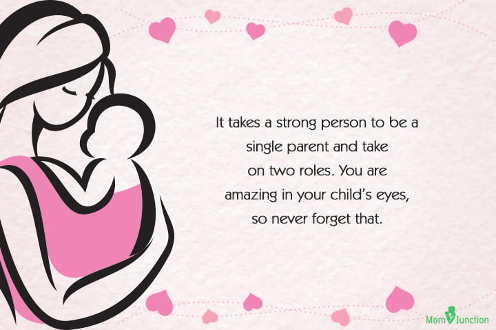 Mother To Be Quotes Enchanting 48 Best Single Mom Quotes