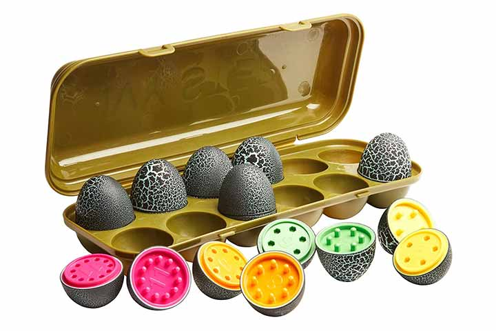 Ivy Step Toy Eggs for Toddlers