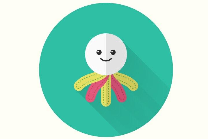 Jellyfish Craft - Jellyfish Rag Doll Craft