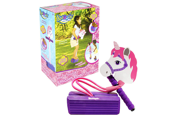 Kidoozie Unicorn foam pogo jumper