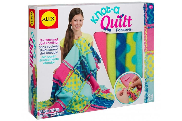 Knot-a-quilt by Alex toys