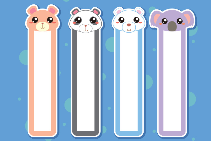 Koala Crafts - Koala Bookmark Craft