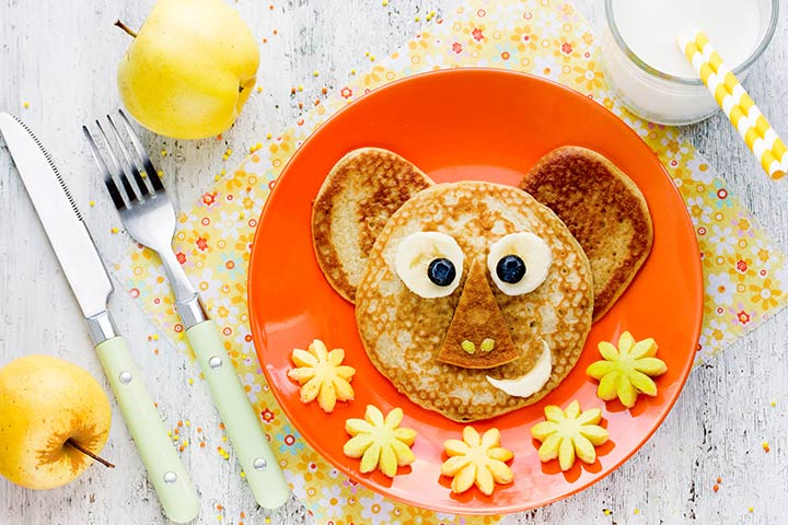 Koala Crafts - Koala Pancake Dessert Craft