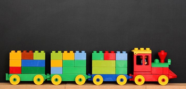 Lego Blocks Train Craft