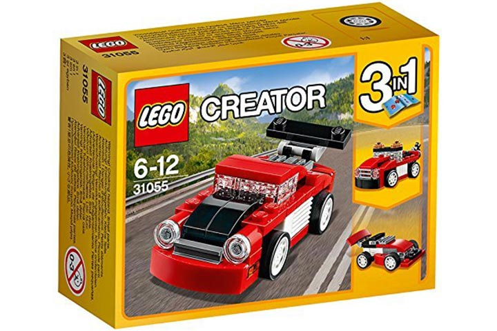 Lego Red Racer, Multi Color