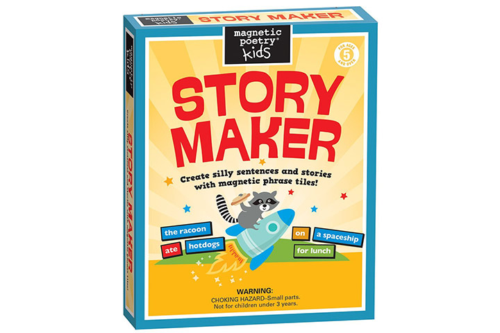 Magnetic poetry – kids story maker kit