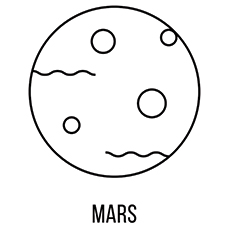 Mars Coloring Pages