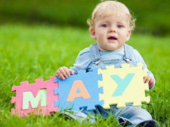 Top 21 Names For Babies Born In May