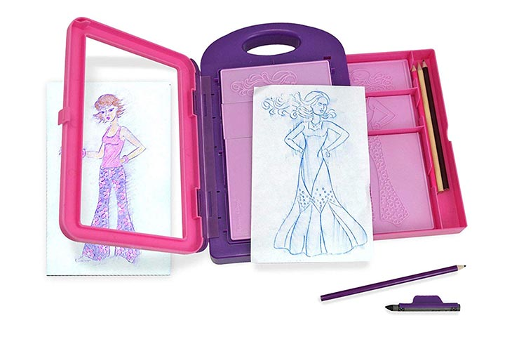 Melissa Doug Fashion Design Activity Kit