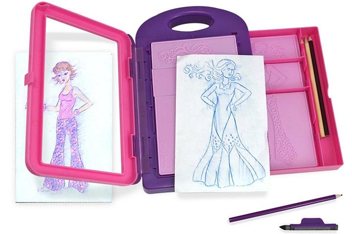 9 Melissa Doug Fashion Design Kit