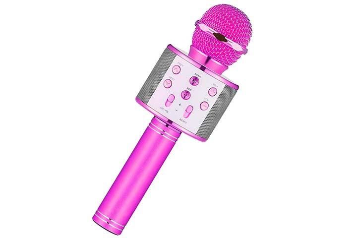 Niskite Karaoke Microphone For Kids