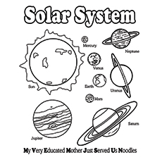 solor system coloring pages 20 Solar System Coloring Pages For Your Little Ones solor system coloring pages
