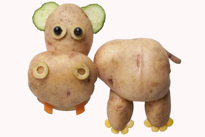 Hippo Craft - Potato, Cucumber, And Corn Hippo Craft