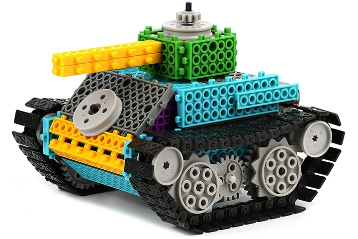 Remote Control Tank Building Kit
