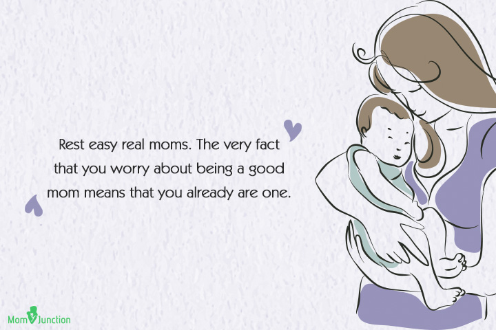 Single Mom Quotes - Rest easy real moms
