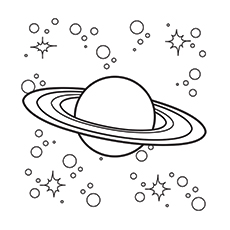 Free Printable Coloring Pages Of Saturn Solar System Uranus